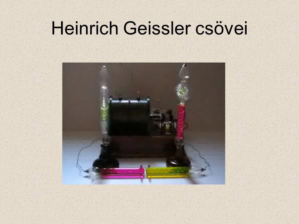 Heinrich Geissler csövei