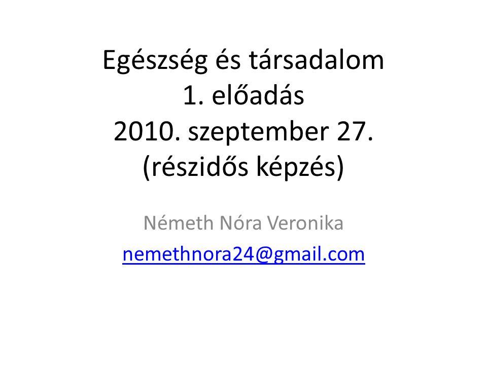 Németh Nóra Veronika nemethnora24@gmail.com