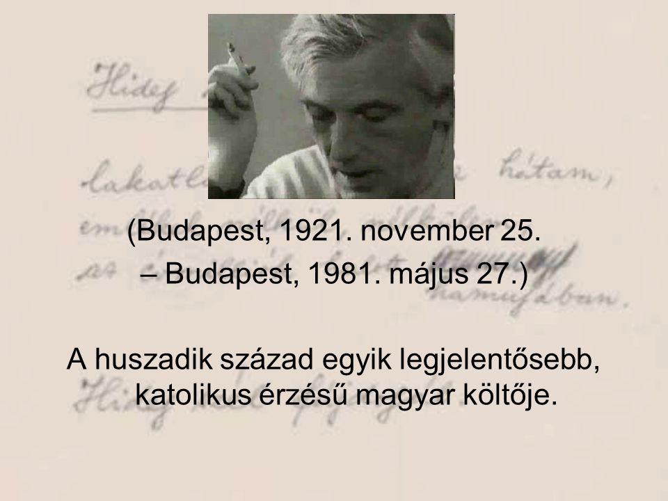 (Budapest, 1921. november 25. – Budapest, 1981.