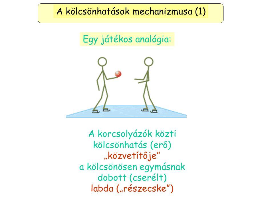 A kölcsönhatások mechanizmusa (1)