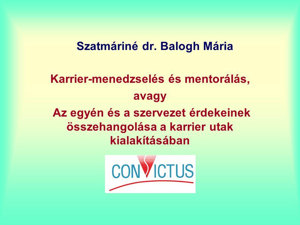 Szatmáriné dr. Balogh Mária