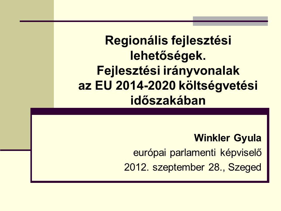 Regionális fejlesztési lehetőségek