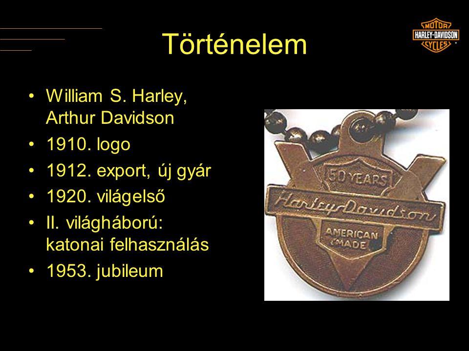 Történelem William S. Harley, Arthur Davidson 1910. logo