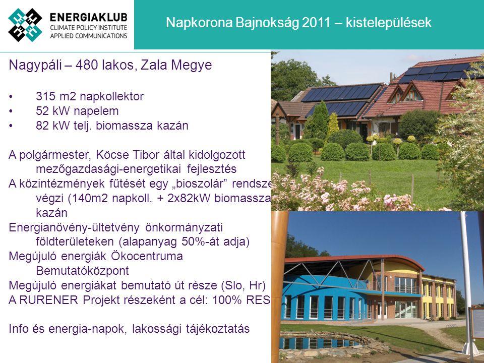 Nagypáli – 480 lakos, Zala Megye