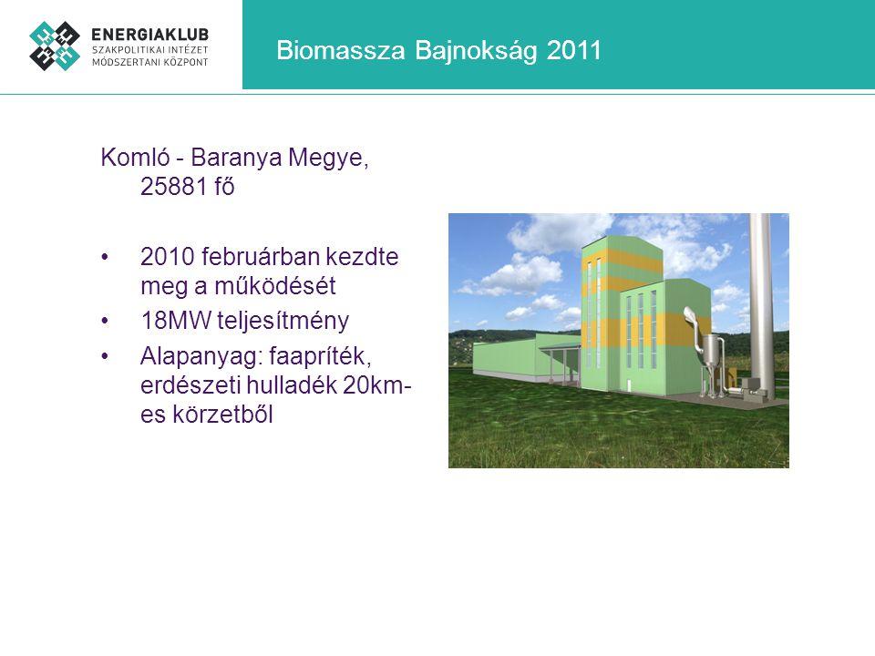 Biomassza Bajnokság 2011 Komló - Baranya Megye, 25881 fő