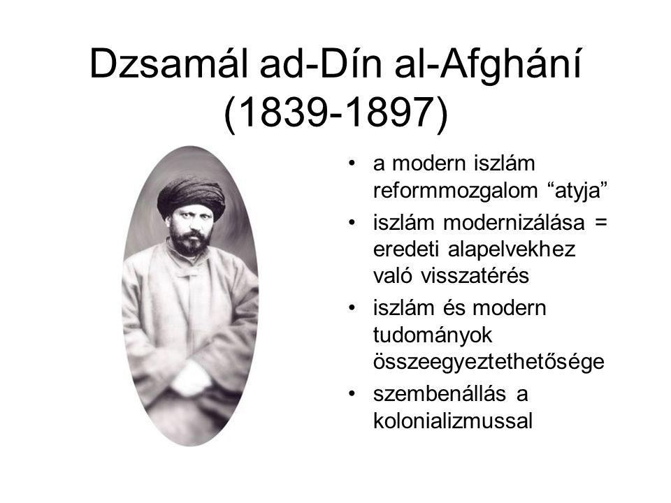 Dzsamál ad-Dín al-Afghání (1839-1897)