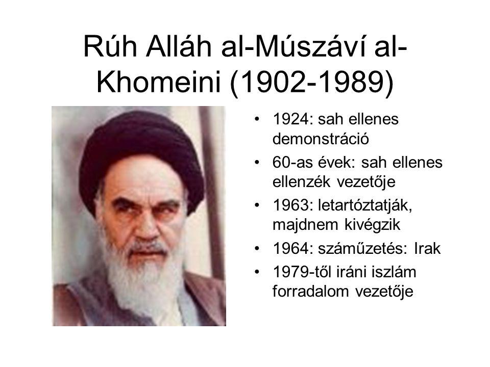 Rúh Alláh al-Múszáví al-Khomeini (1902-1989)