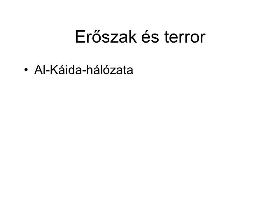 Erőszak és terror Al-Káida-hálózata