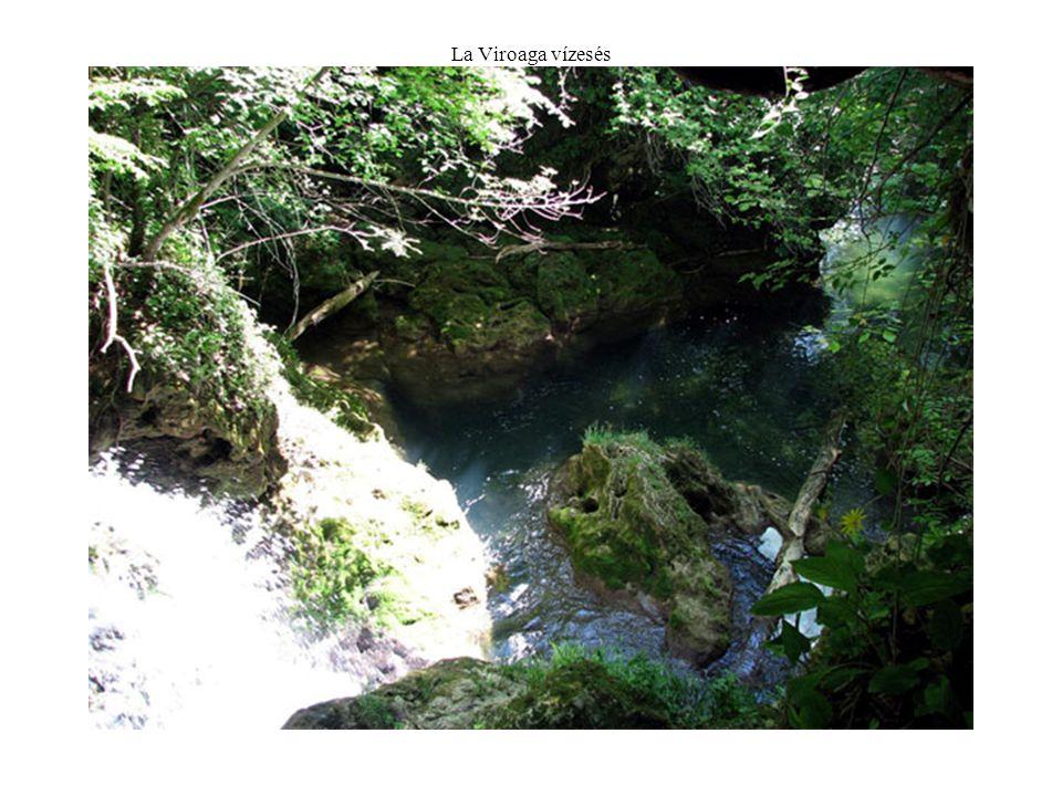 La Viroaga vízesés