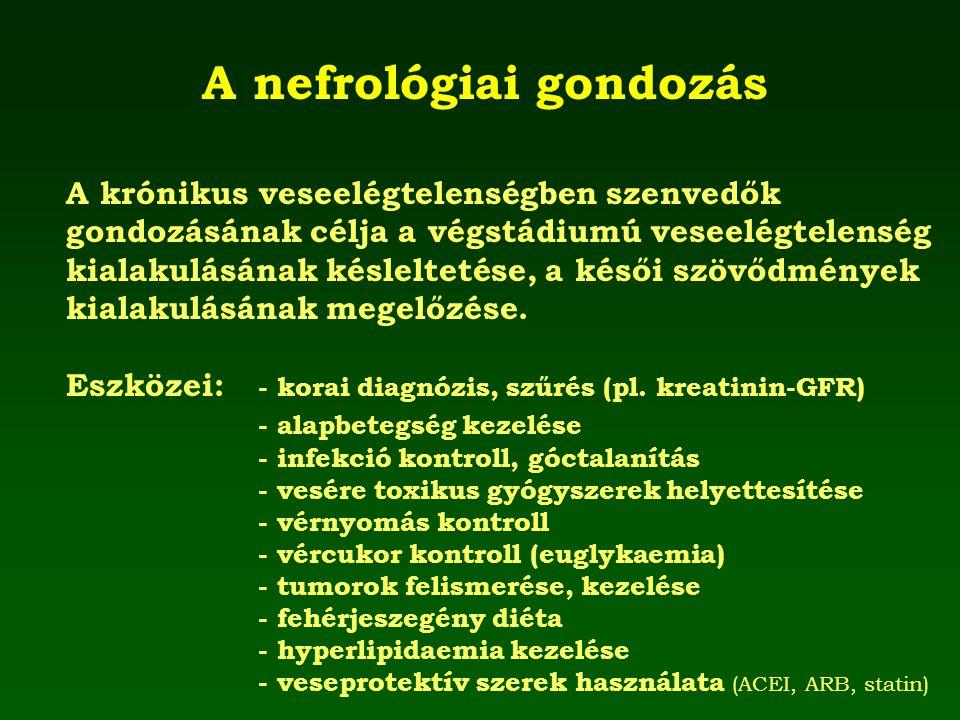 A nefrológiai gondozás