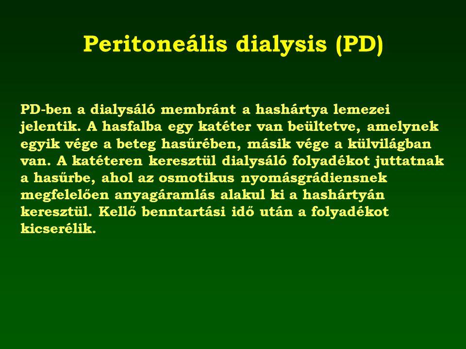 Peritoneális dialysis (PD)