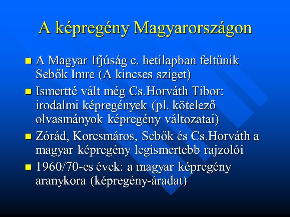 A képregény Magyarországon