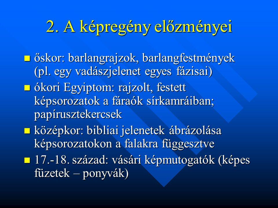 2. A képregény előzményei