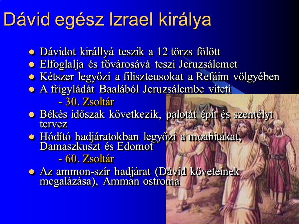 Dávid egész Izrael királya