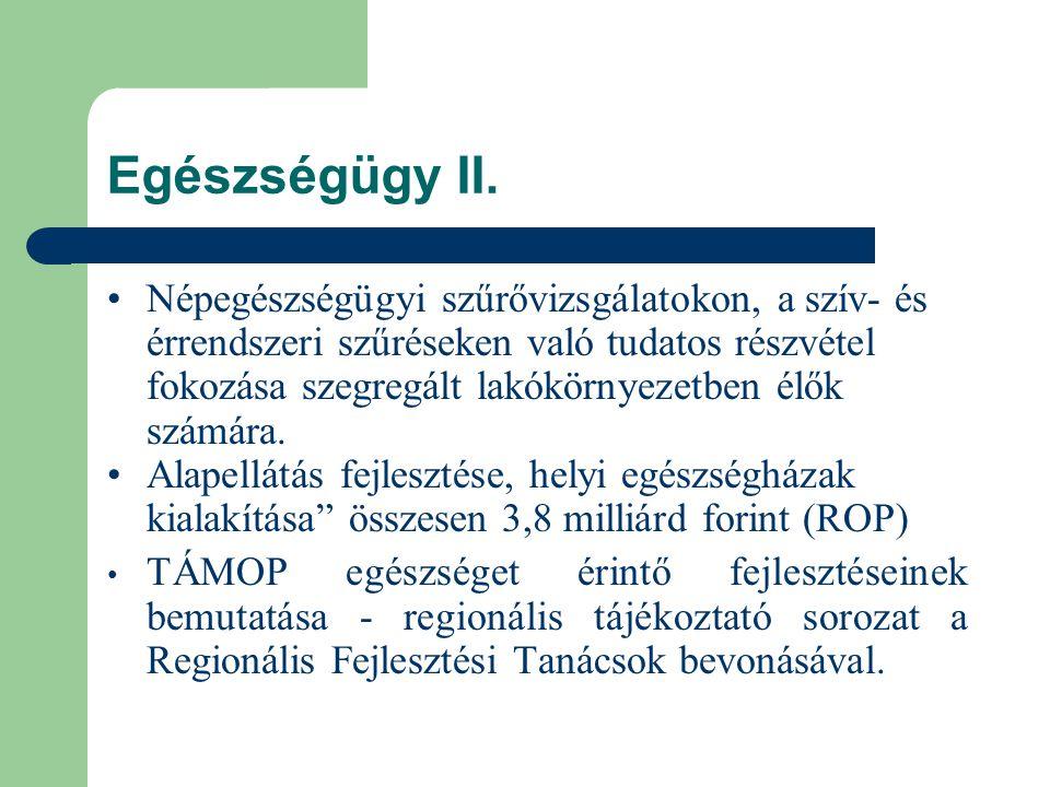 Egészségügy II.