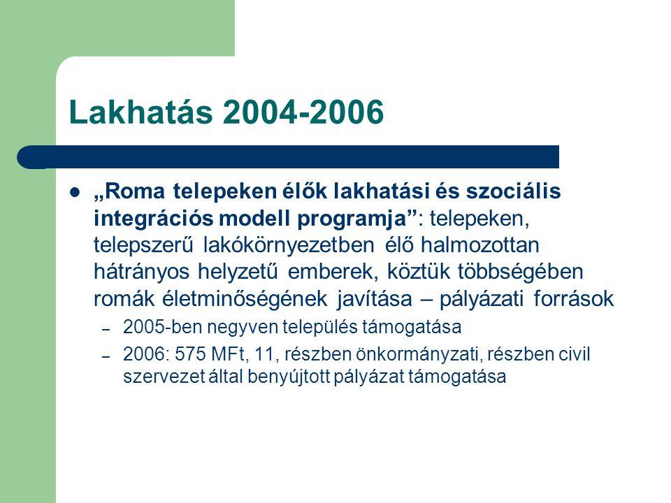 Lakhatás 2004-2006
