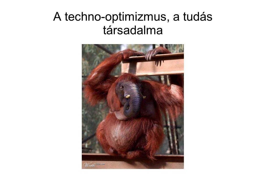A techno-optimizmus, a tudás társadalma