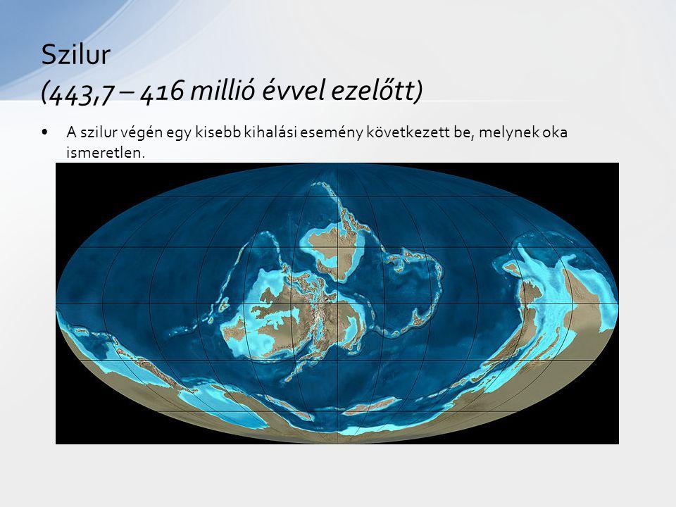 Szilur (443,7 – 416 millió évvel ezelőtt)