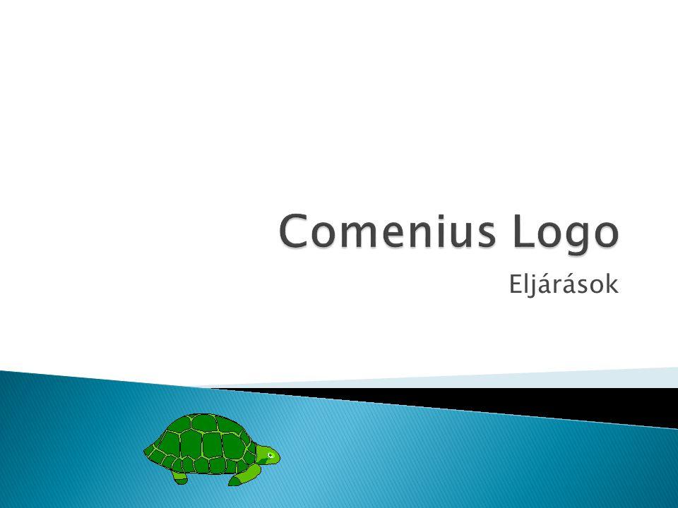 Comenius Logo Eljárások