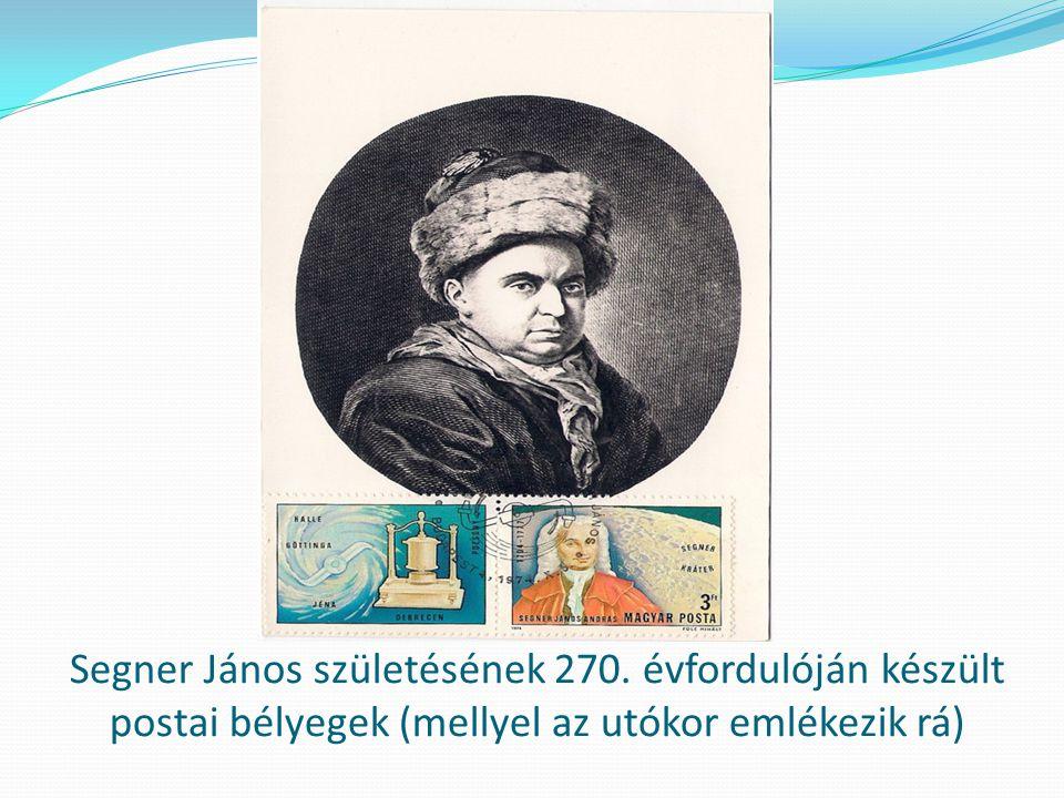 Segner János születésének 270