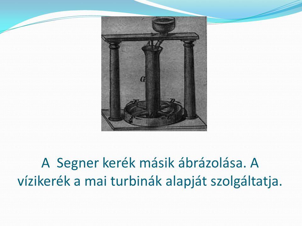 A Segner kerék másik ábrázolása