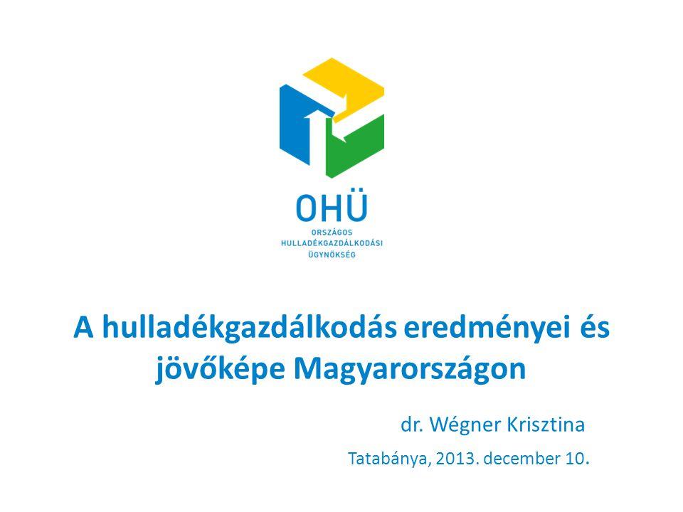 A hulladékgazdálkodás eredményei és jövőképe Magyarországon