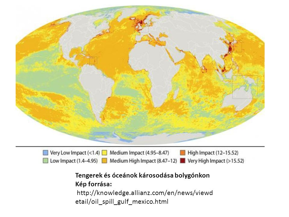 Tengerek és óceánok károsodása bolygónkon