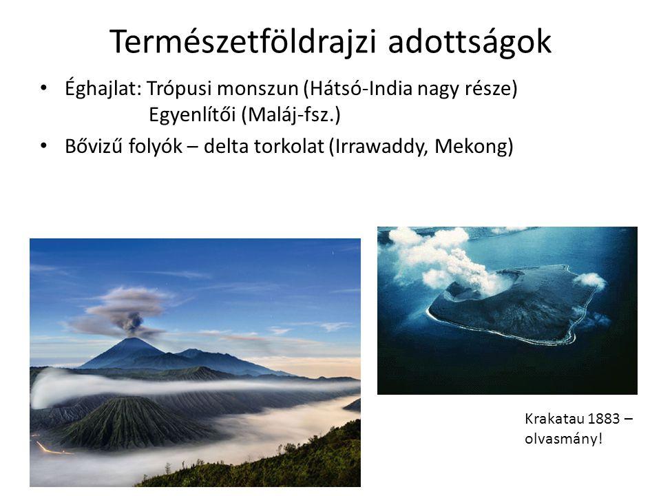 Természetföldrajzi adottságok