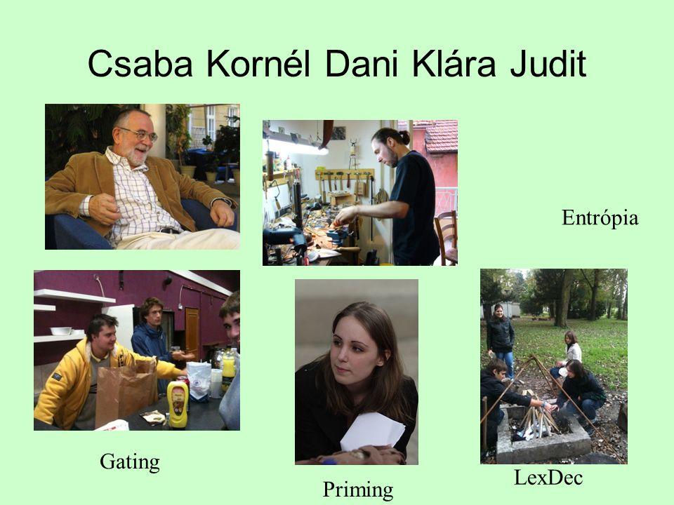 Csaba Kornél Dani Klára Judit