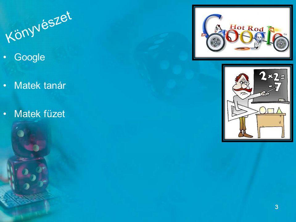 Könyvészet Google Matek tanár Matek füzet