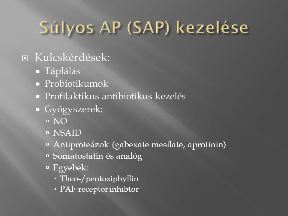 Súlyos AP (SAP) kezelése