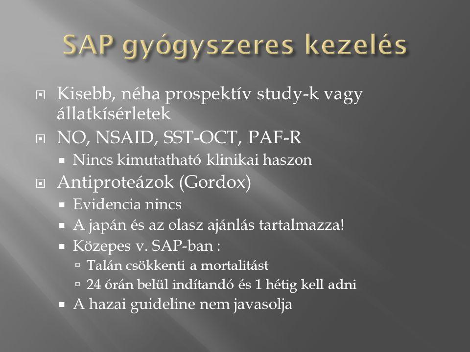 SAP gyógyszeres kezelés