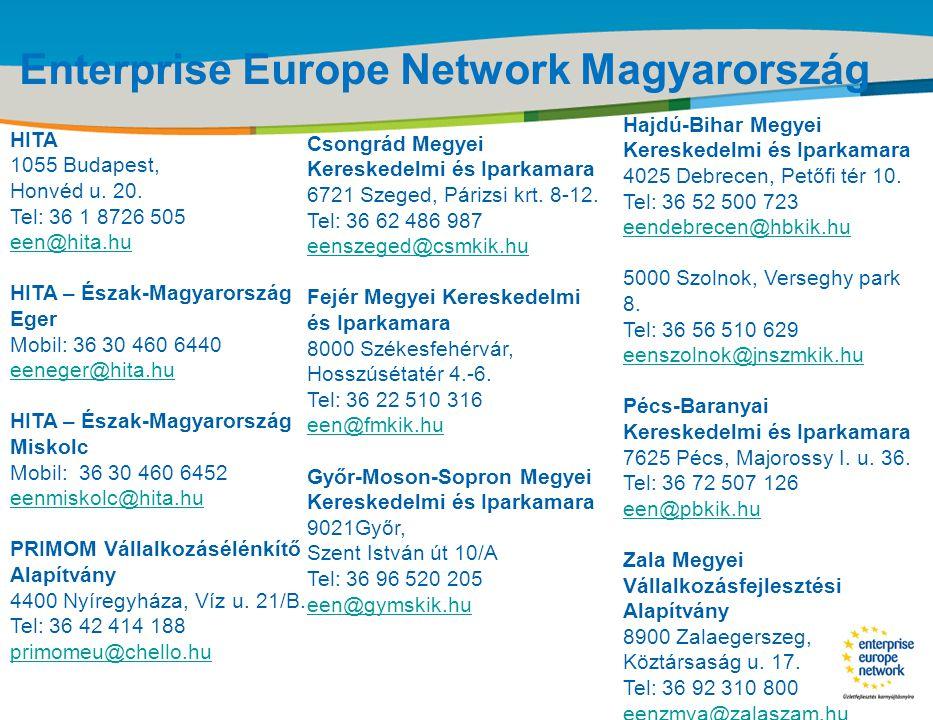 Enterprise Europe Network Magyarország