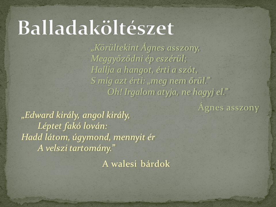 Balladaköltészet