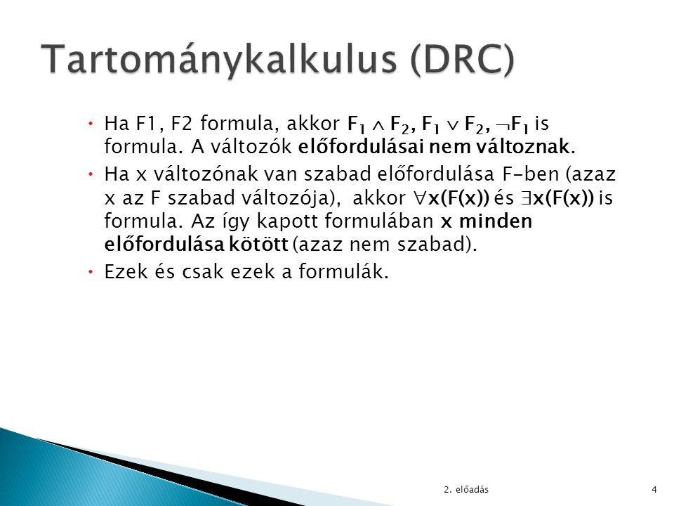Tartománykalkulus (DRC)