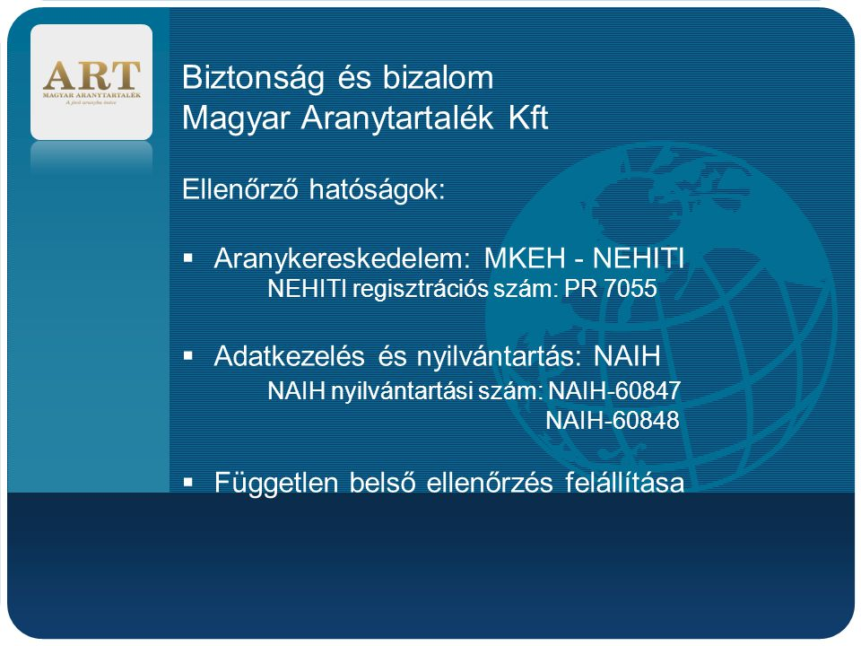 Magyar Aranytartalék Kft