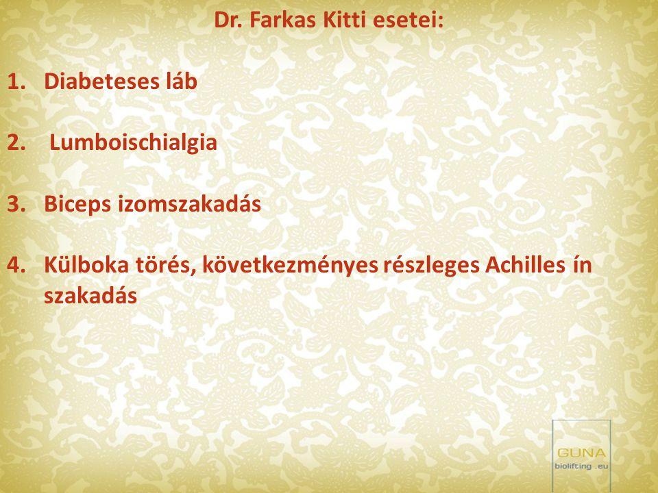 Dr. Farkas Kitti esetei: