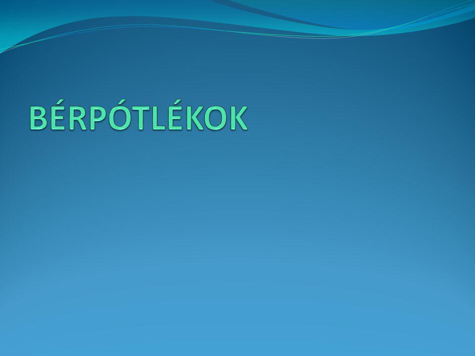 BÉRPÓTLÉKOK