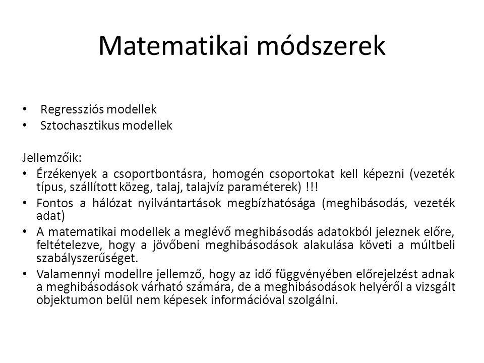 Matematikai módszerek