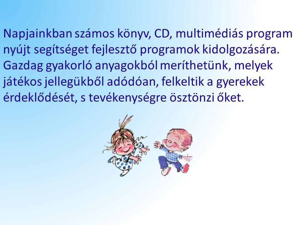 Napjainkban számos könyv, CD, multimédiás program nyújt segítséget fejlesztő programok kidolgozására.
