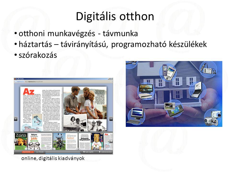 Digitális otthon otthoni munkavégzés - távmunka