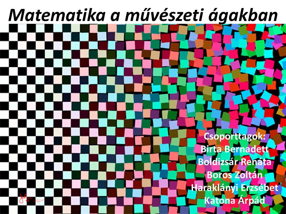 Matematika a művészeti ágakban