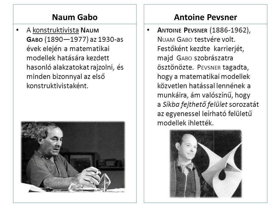Naum Gabo Antoine Pevsner