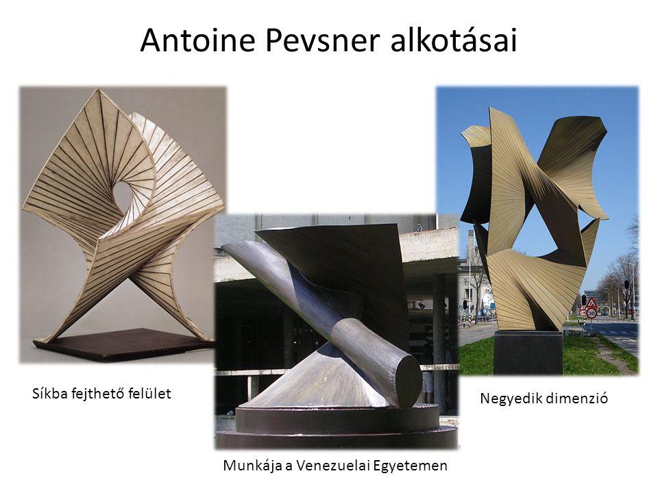 Antoine Pevsner alkotásai
