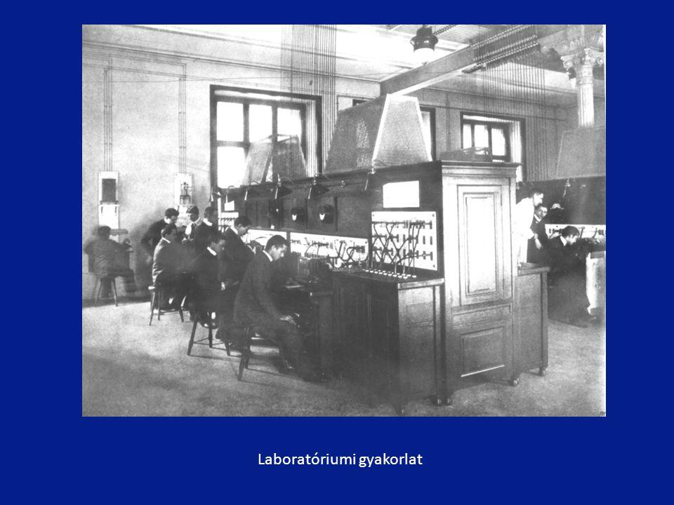 Laboratóriumi gyakorlat