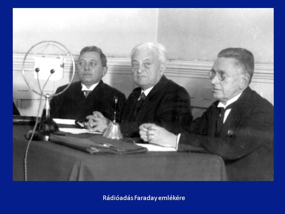 Rádióadás Faraday emlékére