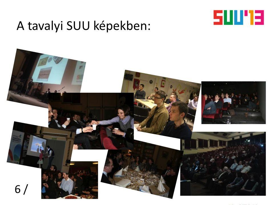 A tavalyi SUU képekben: