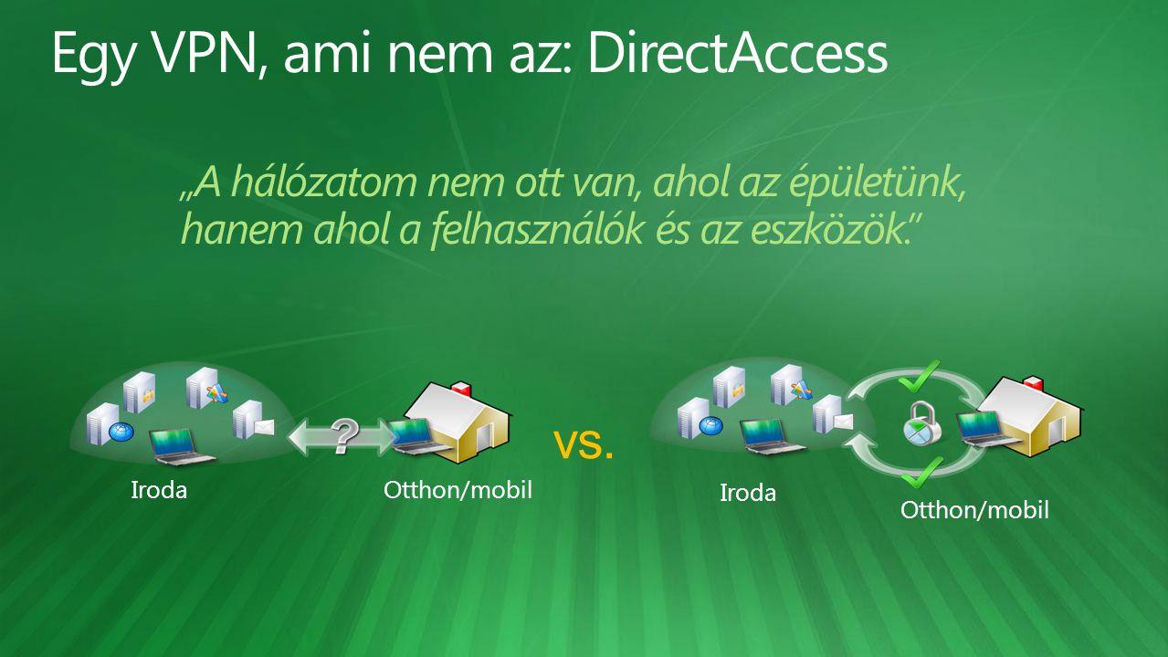 Egy VPN, ami nem az: DirectAccess