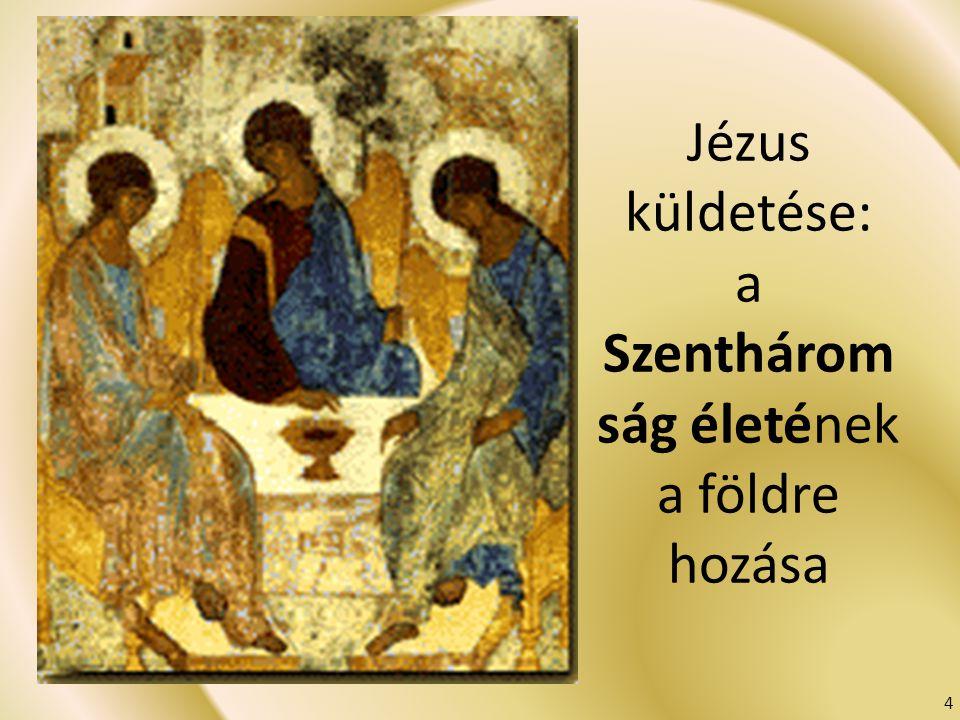 Jézus küldetése: a Szentháromság életének a földre hozása