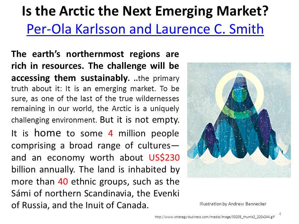 Is the Arctic the Next Emerging Market